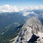 Waxenstein von der Zugspitze aus