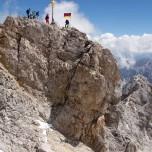 Spitze der Zugspitze
