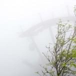Kreuzeckbahn im Nebel II