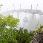 Kreuzeckbahn im Nebel III