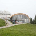 Bergstation der Kreuzeckbahn