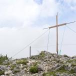 Auf dem Schwarzkopf, Gipfelkreuz