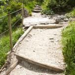 Wanderweg zur Klamm