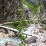 Wanderweg über den Hammersbach