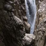 In der Klamm unterhalb der Zugspitze
