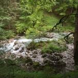 Hammersbach unterhalb der Klamm