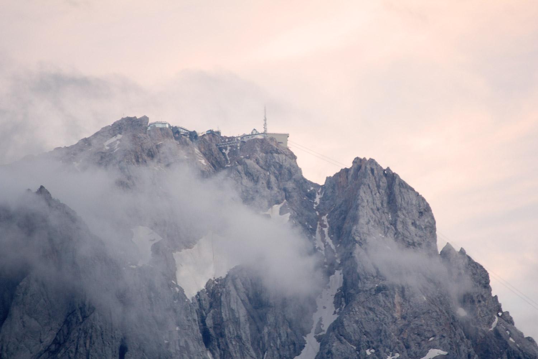 Sehnsuchtsort Zugspitze am Abend