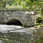Weiterfahrt nicht möglich bei Rheinshagen