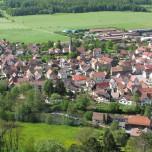 Blick auf Vachdorf