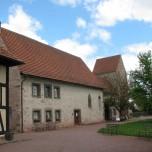 Eingang Kloster Veßra