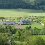 Blick zum Ökomarkt Werratal Vachdorf