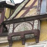 Detail Fachwerk Meiningen