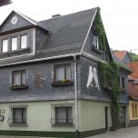 Haus mit Schiefer in Bad Blankenburg
