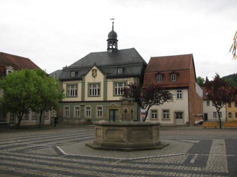 Bad Blankenburg Marktplatz