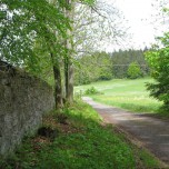 Wanderweg an der Fasanerie bei Sitzendorf