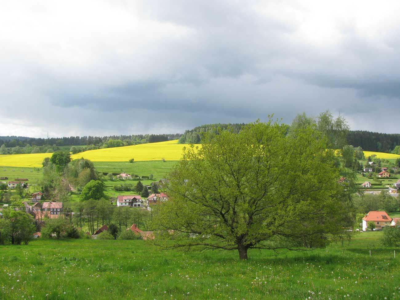 Blick auf Breitenbach