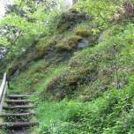 Treppe Hermannstein Goethewanderweg