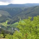 Blick vom Hermannstein Goethewanderweg