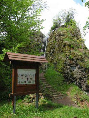 Hermannstein auf dem Kickelhahn- Goethewanderweg