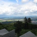 Blick vom Aussichtsturm Kickelhahn