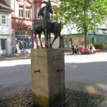 Ziegenbrunnen in Ilmenau
