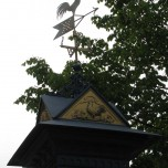 Detail Wettersäule in Ilmenau