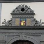 Detail Rathaus in Ilmenau
