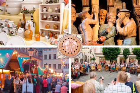 Naumburg: Töpfermarkt, Weinfest, Drehorgelfest und Dom