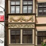 Schöne Hausfassade in Naumburg