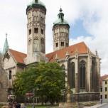 Ostchor und Osttürme des Naumburger Doms