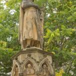Ekkehard-Brunnen vor dem Dom von Naumburg