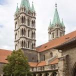 Westtürme und Kreuzgang des Naumburger Doms