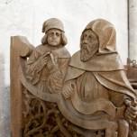 Schnitzarbeiten im Dom zu Naumburg
