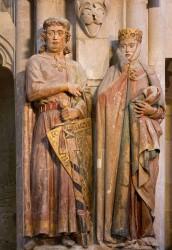 Ekkehard II. und Uta im Naumburger Dom