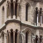 Detail eines Westturms