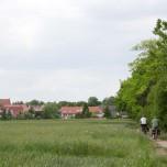 Blick zurück nach Wörlitz