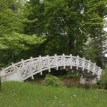 Weiße Brücke am Kleinen Wallloch