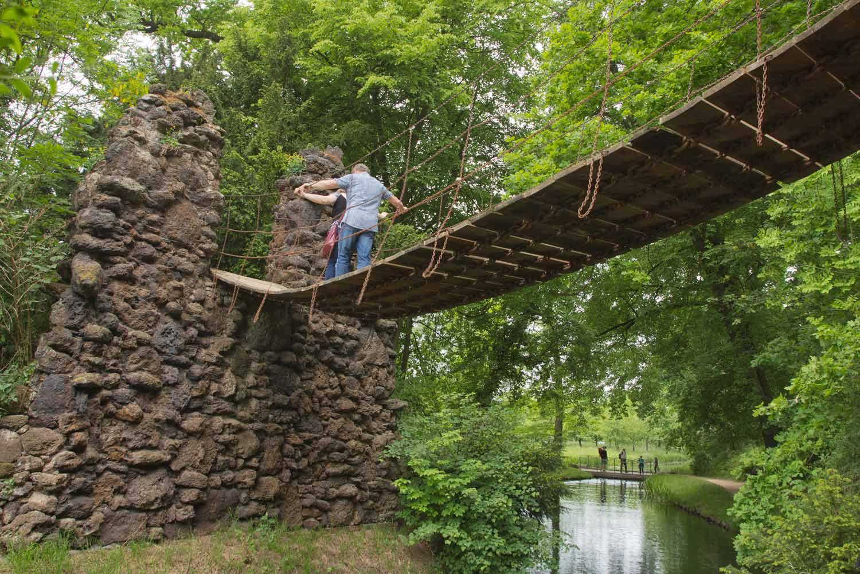 Kettenbrücke im Wörlitzer Park