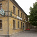 Gastronomie gegenüber von Schloss Oranienbaum