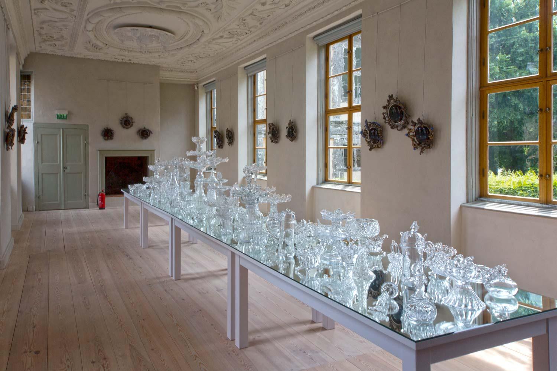 Kristallsammlung in Schloss Oranienbaum