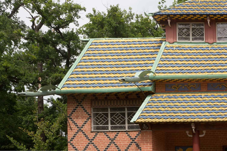 Oranienbaum stadt schloss und schlossgarten unterwegsblog for Traditionelles chinesisches haus