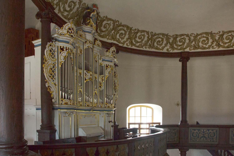 Stadtkirche Oranienbaum, Orgel