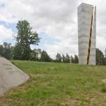 Aussichtsturm am Fundort der Arche Nebra