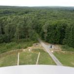 Sichtachse vom Turm aus