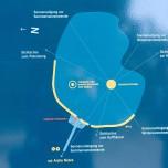 Lageplan Arche Nebra / Mittelberg