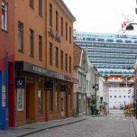 Blick zum Hafen von Stavanger