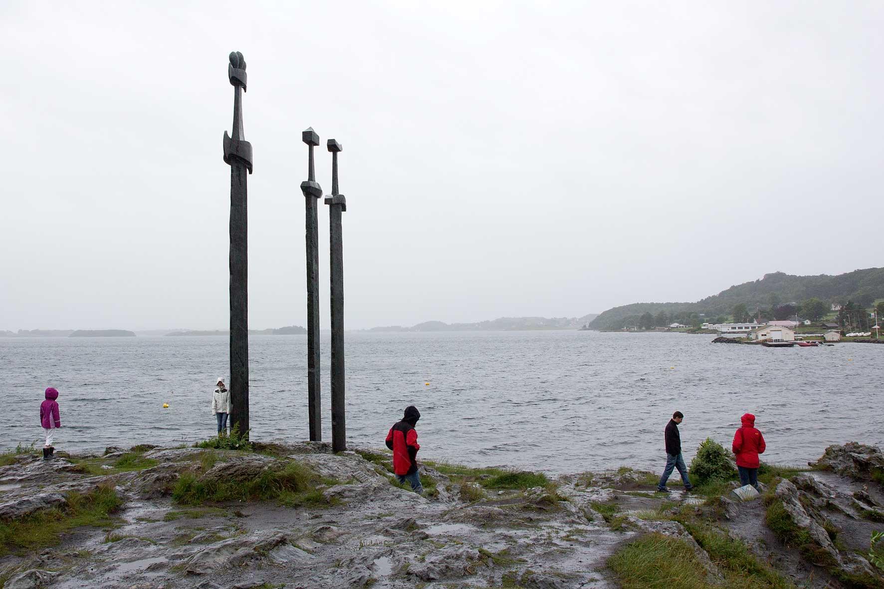 Hafrsfjord mit Sverd i Fjell