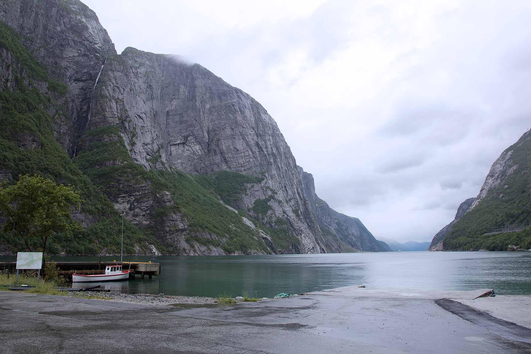 Am Ende vom Lysefjord