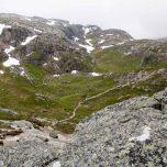 Blick auf das nächste Tal