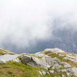 Oberhalb des Lysefjords
